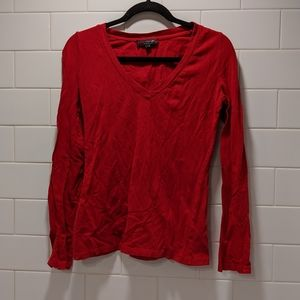 Tops - Red long sleeve